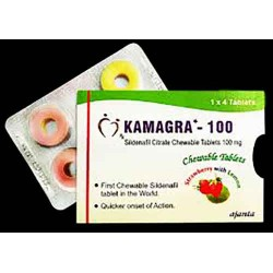 Kamagra Polo Chewable (100mg Sildenafil Citrate) x16