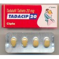 Tadacip 20mg X 4 Tablets
