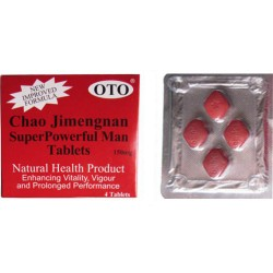 Chao Jimengnan X 4 Tablets 150mg (herbal sex pill)