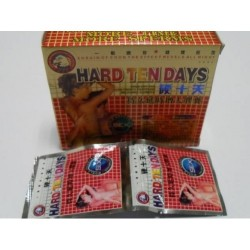 Hard Ten Days X 12 Capsules (Herbal)